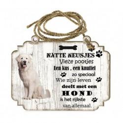 Hondenbordje: Tatrahond