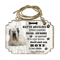 Hondenbordje: Skye Terriër