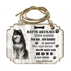 Hondenbordje: Finse Lappenhond