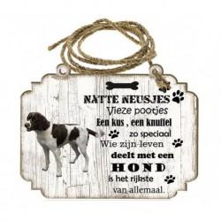 Hondenbordje: Drentsche Patrijshond