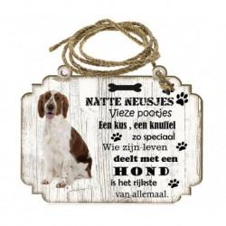 Hondenbordje: Welsh Springer Spaniel