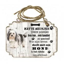 Hondenbordje: Shih Tzu