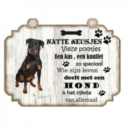 Hondenbordje: Rottweiler