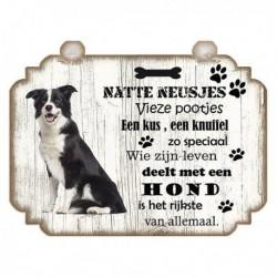 Hondenbordje: Border Collie
